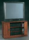 SAUDER CAMDEN COUNTY COLLECTION CORNER TV/VCR STAND