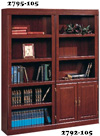 SAUDER HERITAGE HILL COLLECTION LIBRARY WITH DOORS
