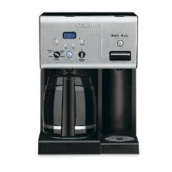 CUISINART 12 CUP PROGRAMMABLE COFFEMAKER WITH HOT WATER SYSTEM