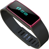 ADVENTURELABS SMART BAND - WRIST - PEDOMETER - BLUETOOTH - RED - SPORTS, TRACKING RED BLUETOOTH